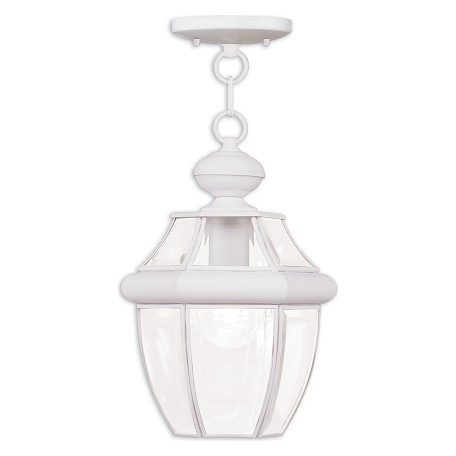 Livex Lighting White Hanging Lantern