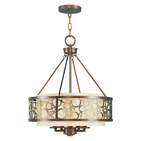 Livex Lighting Palacial Bronze Avalon 5 Light 1 Tier Chandelier