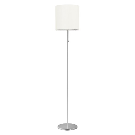 Eglo Aluminum Sendo Single-Bulb Floor Lamp