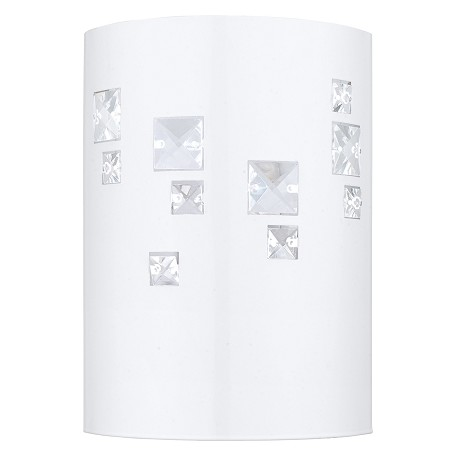 Eglo Glossy White Pigaro 1 Light Wall Sconce