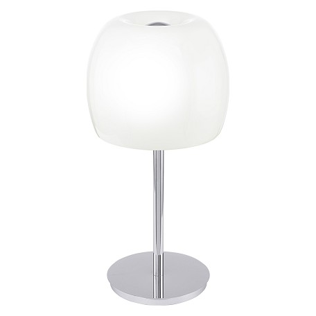 Eglo Chrome 3 Light Table Lamp from the Dario Collection