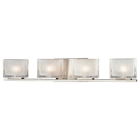 ELK Lighting Four Light Bath Bar Brushed Nickel