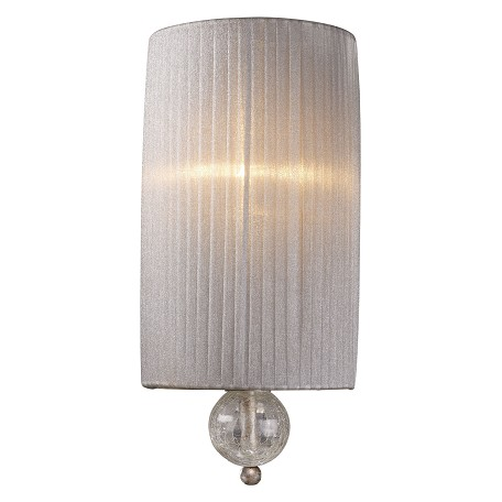 ELK Lighting One Light Antique Silver Wall Light