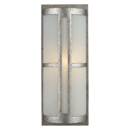ELK Lighting One Light Sunset Silver Outdoor Wall Light