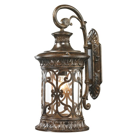 ELK Lighting Orlean Collection 1 Light Outdoor Sconce In Hazelnut Bronze