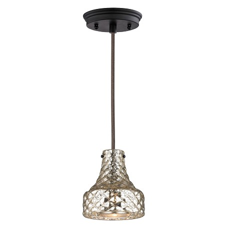ELK Lighting Danica (Existing) Collection 1 Light Mini Pendant In Oil Rubbed Bronze