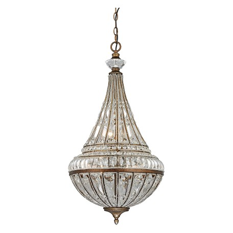 ELK Lighting Empire Collection 6 Light Pendant In Mocha