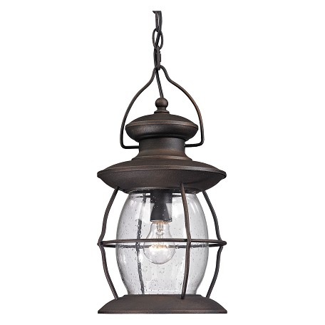 ELK Lighting Village Lantern - One Light Outdoor Pendant