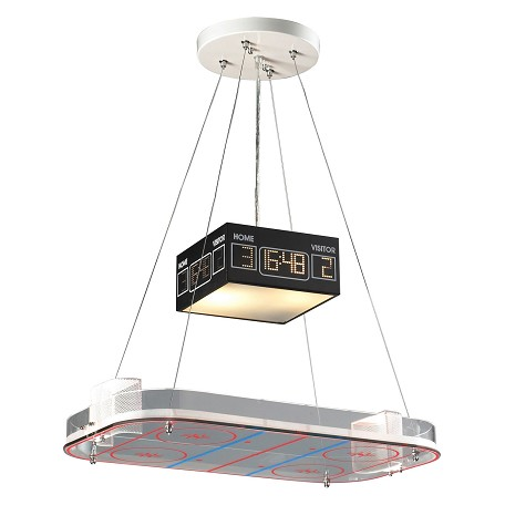 ELK Lighting Two Light Hockey Down Pendant