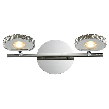ELK Lighting Spiva Collection 2 Light Bath In Polished Chrome