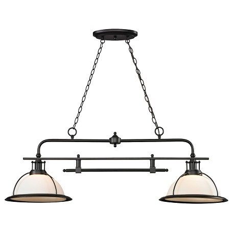 ELK Lighting Wilmington 2 Light Kitchen Island/Billiard Pendant