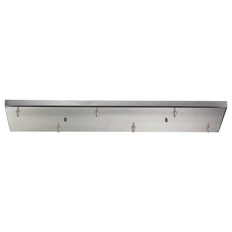 ELK Lighting 6 Light Rectangular Pansatin Nickel