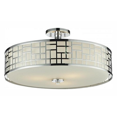 Z-Lite 3 Light Semi-Flush Mount
