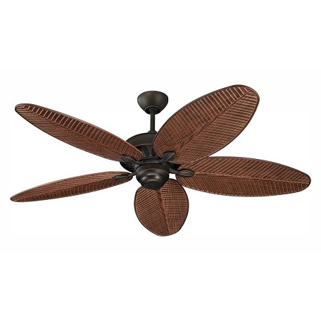"Monte Carlo 52"" Cruise Wet Rated Outdoor Fan Roman Bronze"