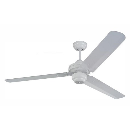 Monte Carlo Studio 54-Inch 3-Blade Ceiling Fan With Blades White