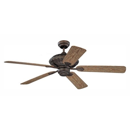 Monte Carlo Cozumel 52-Inch 5-Blade Outdoor Ceiling Fan With Motor