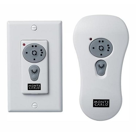 Monte Carlo White Fan Remote