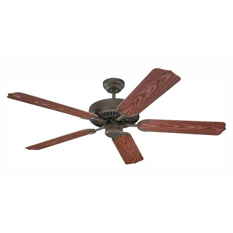 Monte Carlo Weatherford 52-Inch 5-Blade Outdoor Ceiling Fan