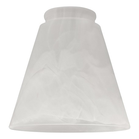 Craftmade White Frost 2.25in. Cone Shaped Fan Glass