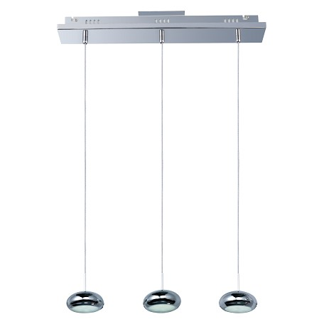 ET2 Dial 3-Light Led Linear Pendant