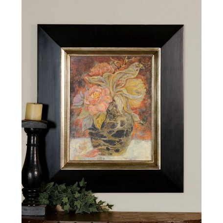 Uttermost Orange, Peach, Brown Floral Bunda