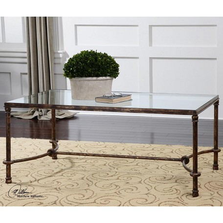Uttermost Rustic Bronze Patina Furniture Tables Coffee Tables From The Warring Series
