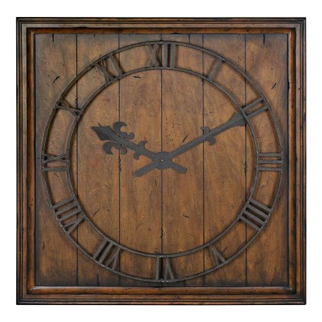 "Uttermost 32"" Square Wall Clock"