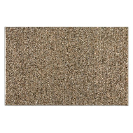 Uttermost Beige / Gray 5 X 8 Tufara Hand Woven Leather Rug