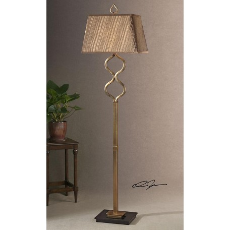 Uttermost Coffee Bronze Floor Lamp