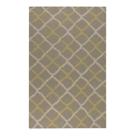 Uttermost Gray Charcoal Flat Weave Rug 8 -Feet X 10 -Feet Rug