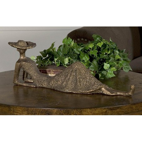 Uttermost Antique Bronze Summer Days Sculpture