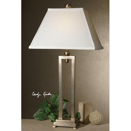 Uttermost Silver Plate Conrad Table Lamp