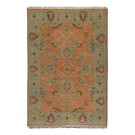 Uttermost Weathered Rust 8 X 10 Akbar Hand Knotted Wool Rug