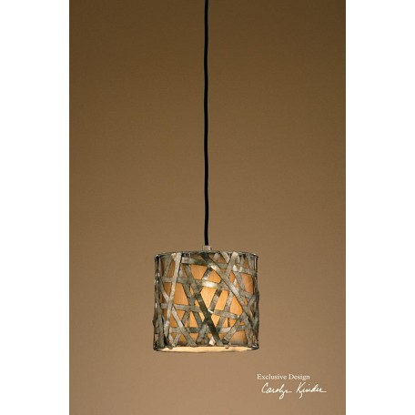 Uttermost Hanging Shade Pendant From The Naturals Collection