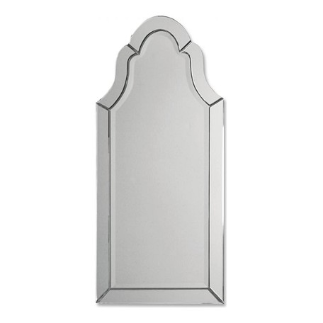 Uttermost B Beveled Glass Hovan Arched Frameless Mirror