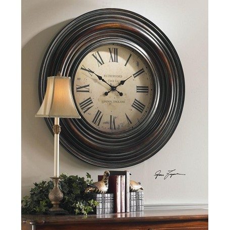 Uttermost 38'' Oversized Wall Clockâ
