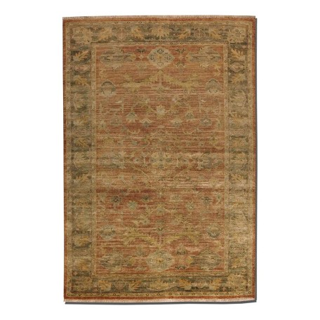 Uttermost Washed Rust Red 6 -Feet X 9 -Feet Area Rug