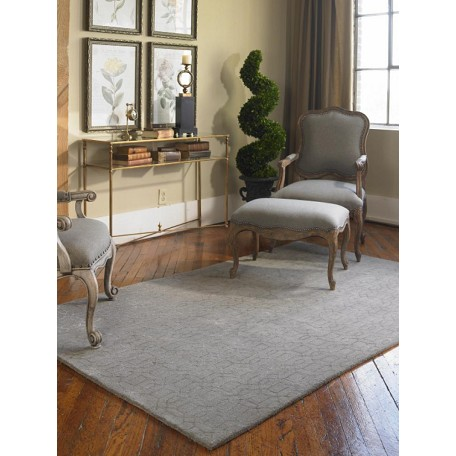 Uttermost Warm Gray 5 X 8 Cambridge Hand Tufted Wool Rug