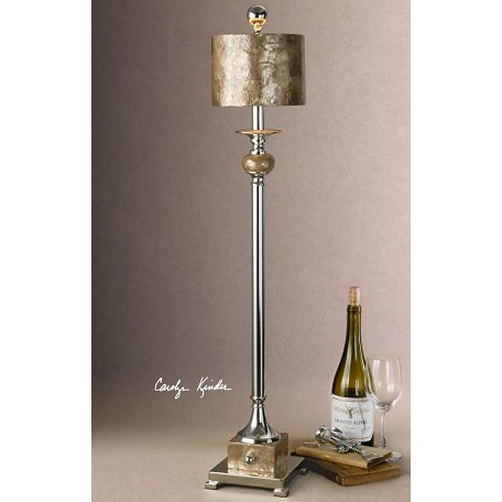 Uttermost Mother Of Pearl Accents. Pearl Contemporary Single Light Buffet Lamp