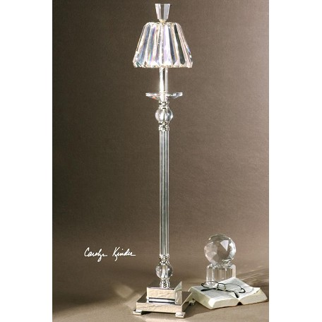 Uttermost Silver Plated Kalena Buffet Lamp