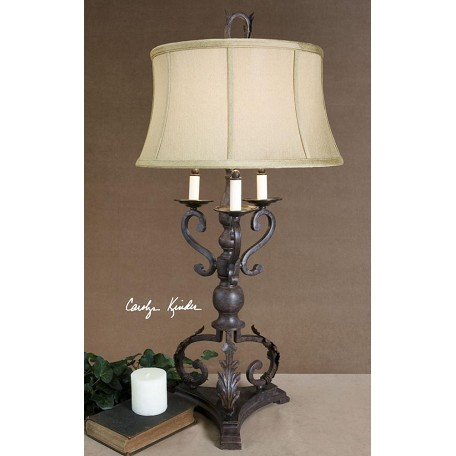 Uttermost Mahogany Bronze Hope Table Lamp