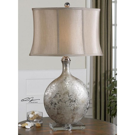 Uttermost Metallic Silver Navelli Table Lamp