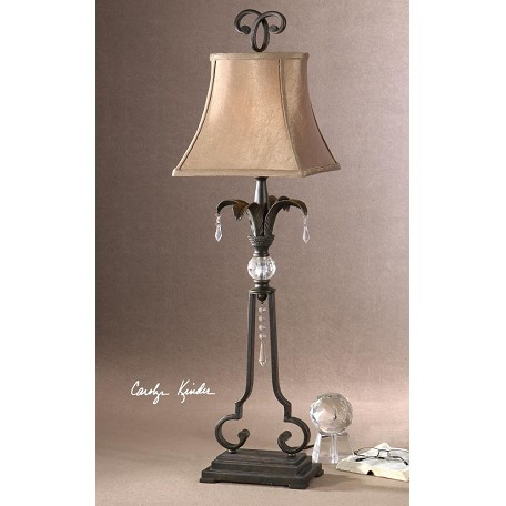 Uttermost Dark Bronze Sorrento Buffet Lamp