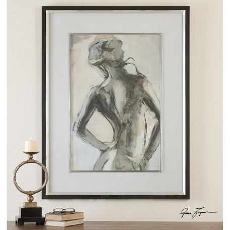 Uttermost Artwork Reproduction Gesture Feminine Impressionist Wall ...