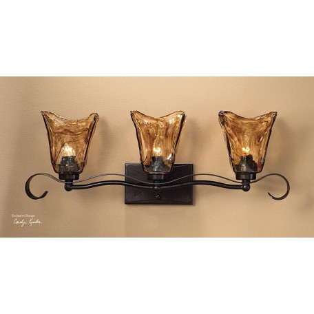 Uttermost Vanity Fixture From The Vetraio Collection