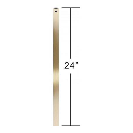 Emerson Fans Antique Brass 24in. Unthreaded Downrod