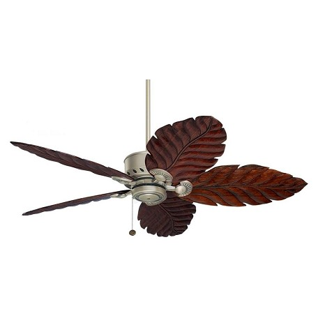 Emerson Fans Antique Pewter Maui Bay 52in. 5 Blade Ceiling Fan with Custom Blade Options