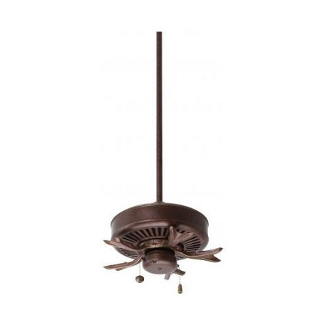 Emerson Fans Three Light Gilded Bronze Fan Motor Without Blades
