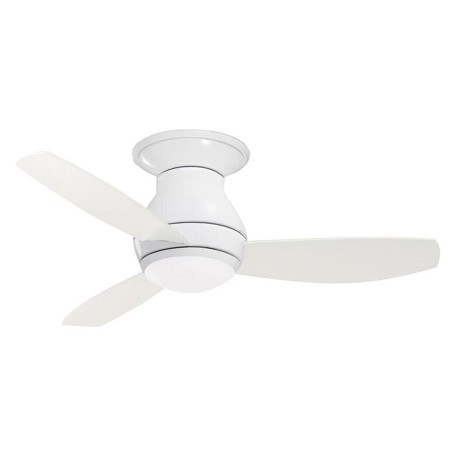 Emerson Fans Two Light Appliance White Ceiling Fan