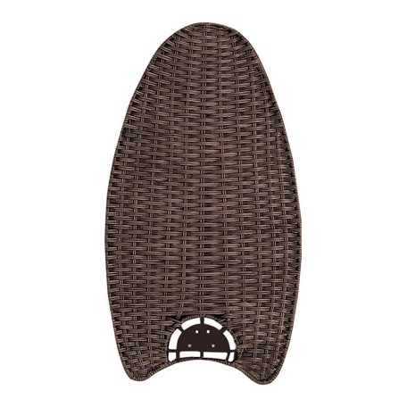 Emerson Fans Dark Walnut Wicker Fan Blades For Maui Bay